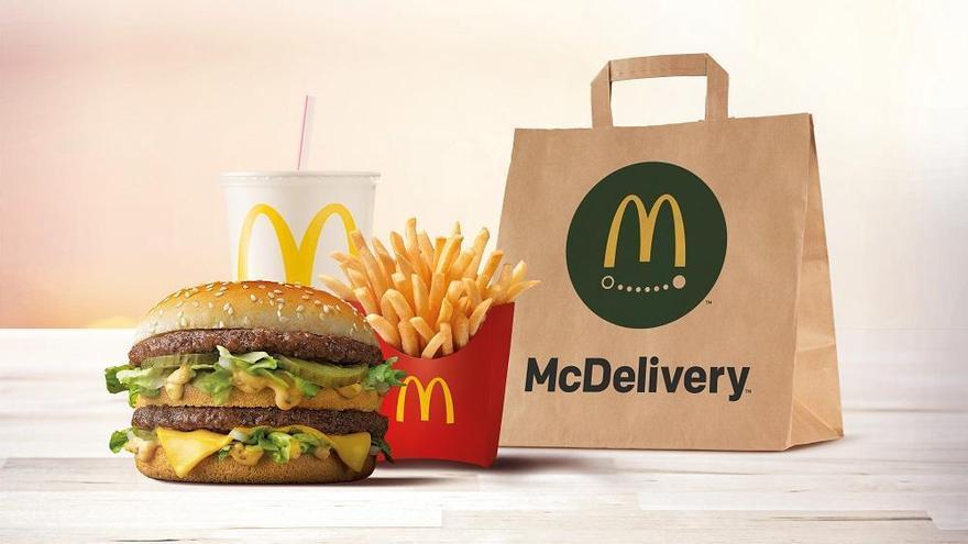 McDonald's ahora lleva la comida a domicilio en Lorca y Molina