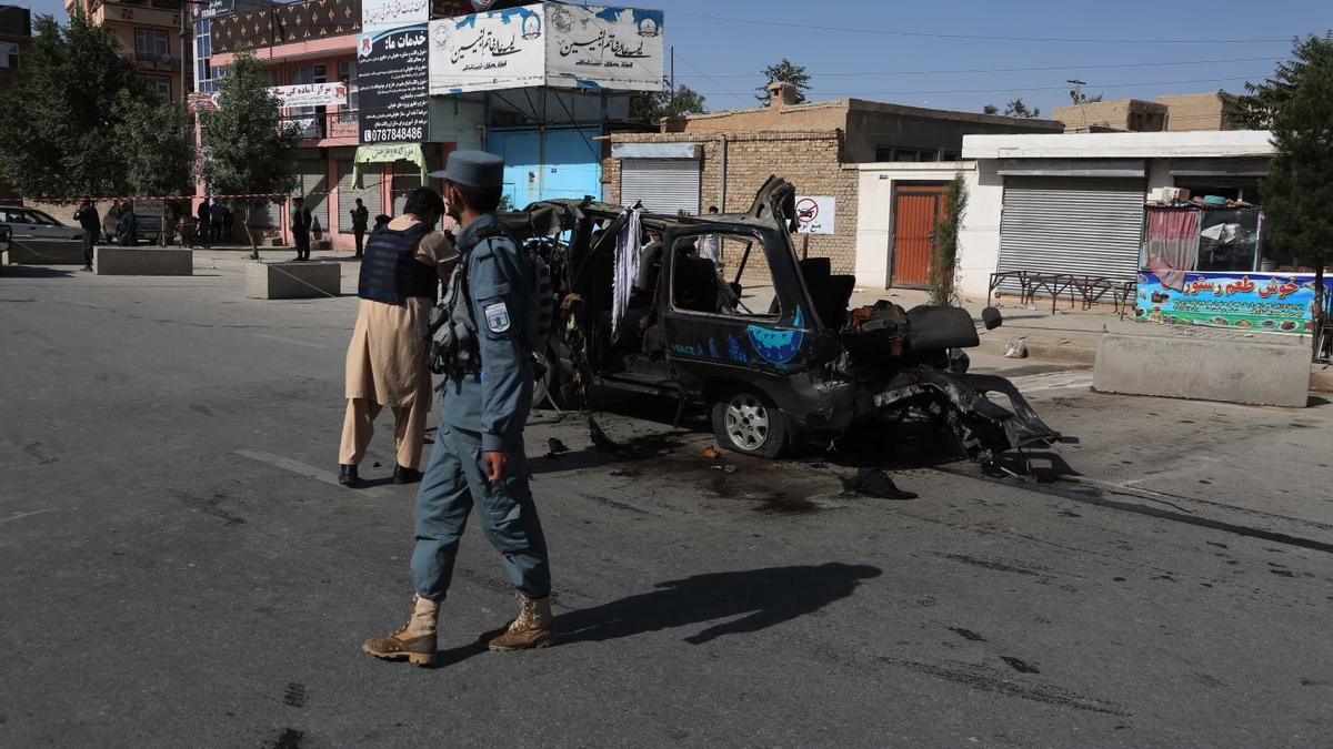 Fuerzas de seguridad de Afganistán.