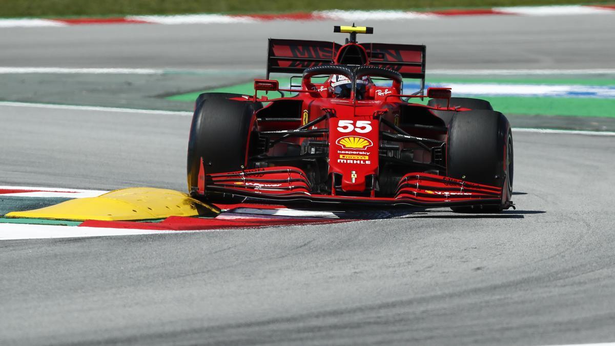 El piloto madrileño de Ferrari, Carlos Sainz.