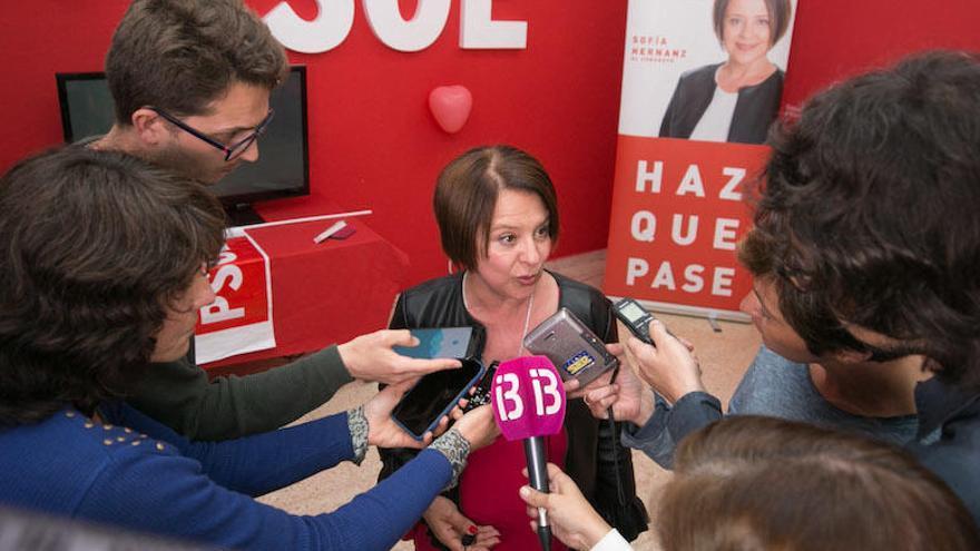La ibicenca Sofía Hernanz, a la mesa del Congreso