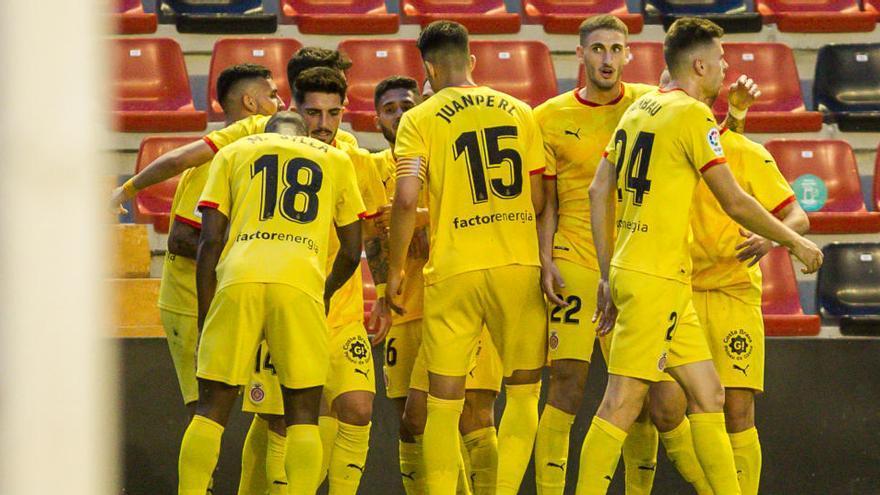 El Girona encarrila ante el Rayo en Vallecas el sueño de Primera