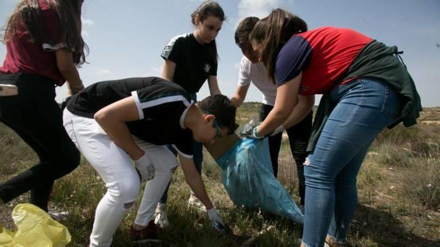 El reto de limpiar un monte para ayudar al planeta