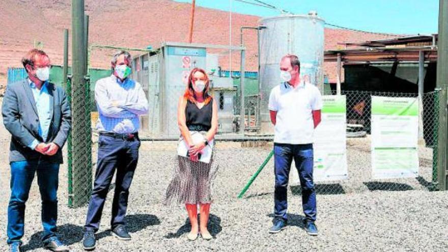 Agüimes abre la primera planta de biogás a partir de residuos ganaderos