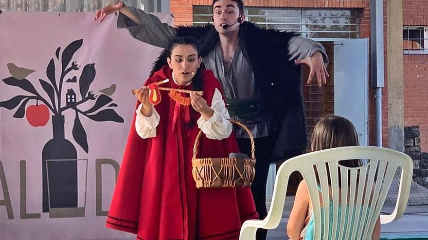 El cartel del ciclo de teatro familiar de Avilés se nutre de fantasía, danza y títeres