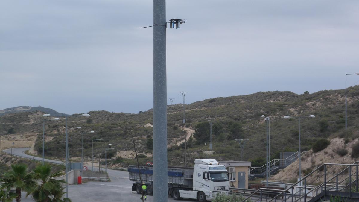 La planta de tratamiento de residuos Les Canyades en El Campello