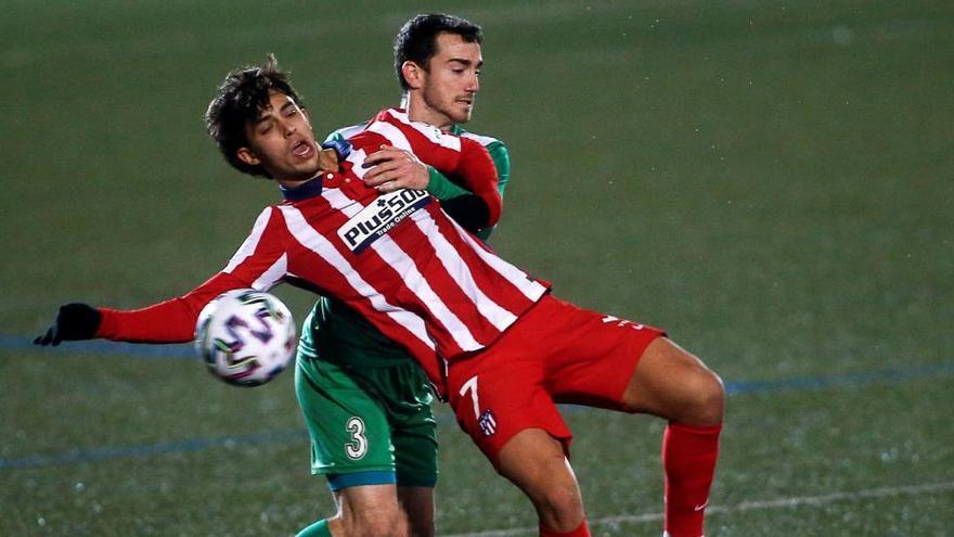 El Cornellà, de Segunda B, elimina al Atlético de la Copa