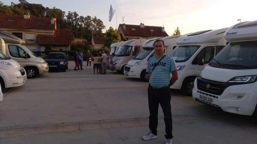 Proponen un área de servicio para autocaravanas en Gondomar