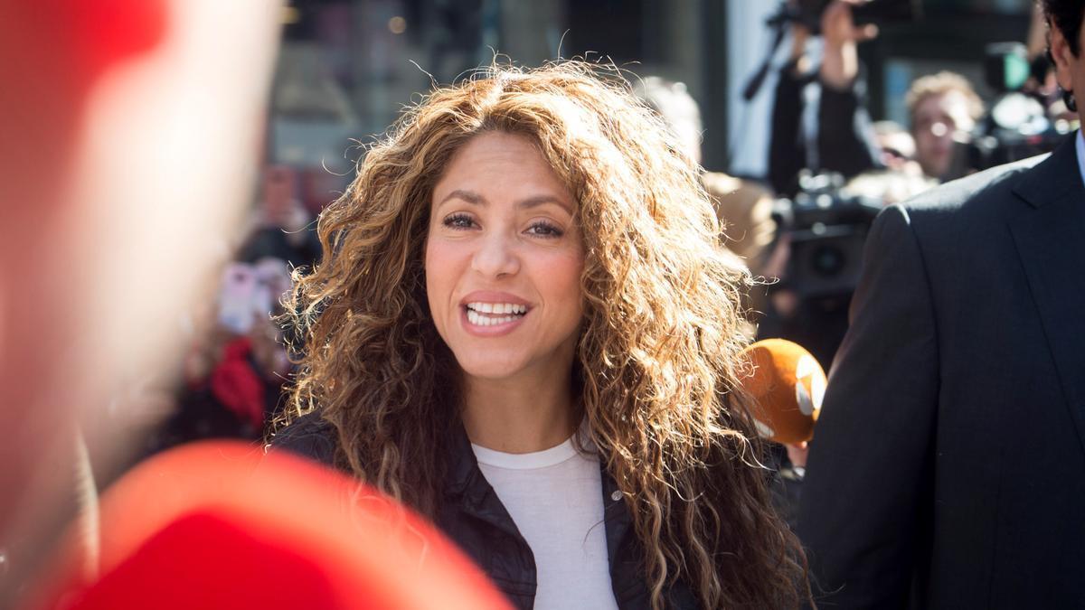 La cantante, Shakira.