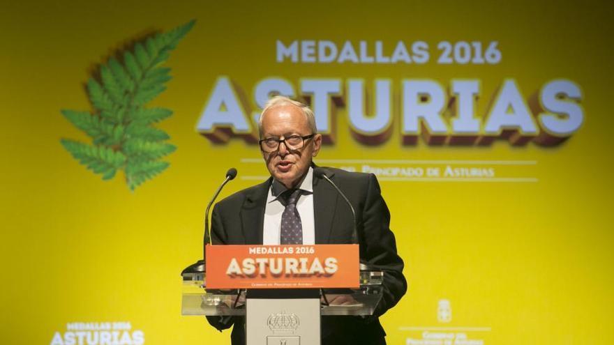 José Manuel Vaquero, conseller de Prensa Ibérica, Medalla d'Or d'Astúries