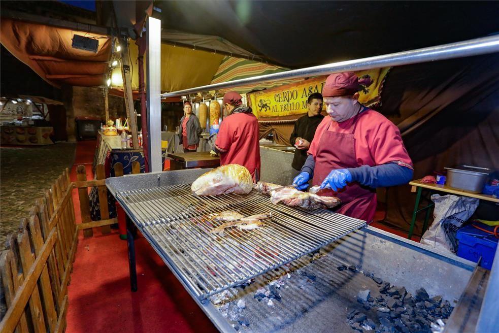 Las imágenes del arranque del Mercado Medieval de las Tres Culturas en Cáceres