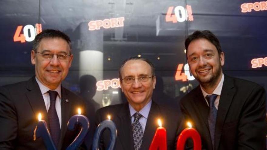 «Sport» celebra el seu 40 aniversari al Museu del Barça