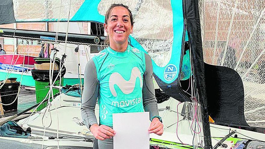 Paula Barceló disputa el Campeonato de Europa de FX49er
