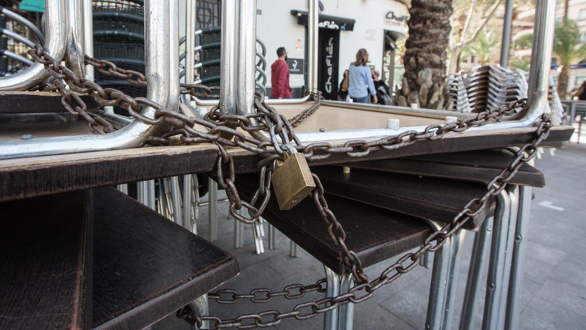 Nuevas medidas en Alicante, Valencia y Castellón: las terrazas de los bares y restaurantes abrirán a partir de marzo.