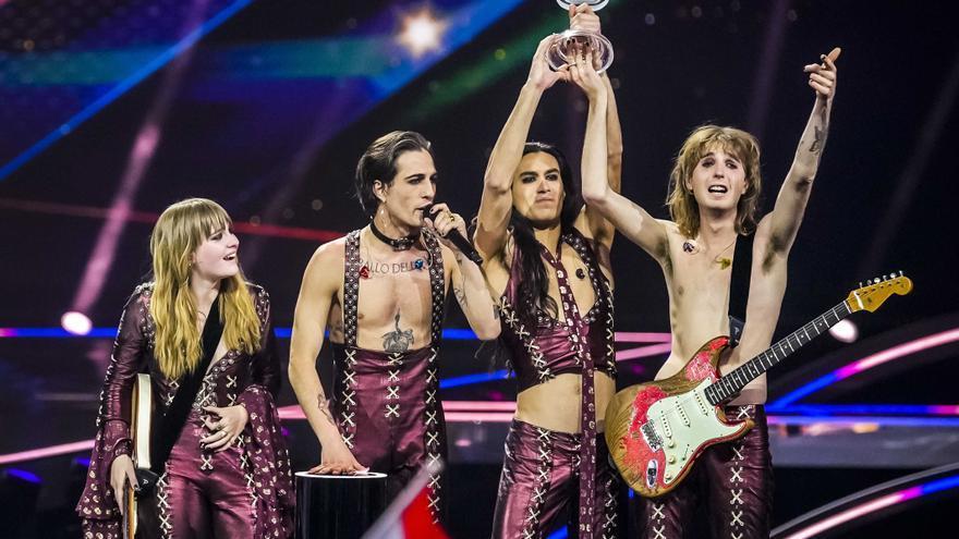 El glam rock de Italia conquista el Festival de Eurovisión 2021
