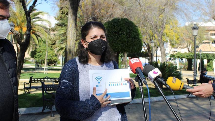 Entra en funcionamiento la red wifi pública del Ayuntamiento de Lucena