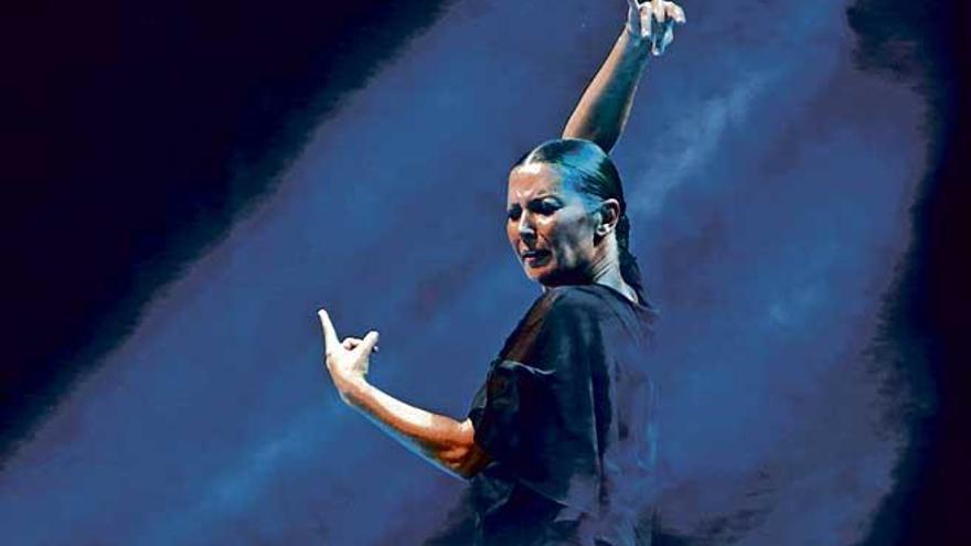 """Sara Baras: """"Una nunca baila sola, siempre hay algo que te acompaña"""""""