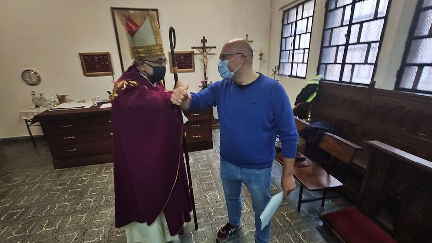 """""""Hará una gran labor"""", afirma el Arzobispo al despedir al misionero laico que va a Honduras"""