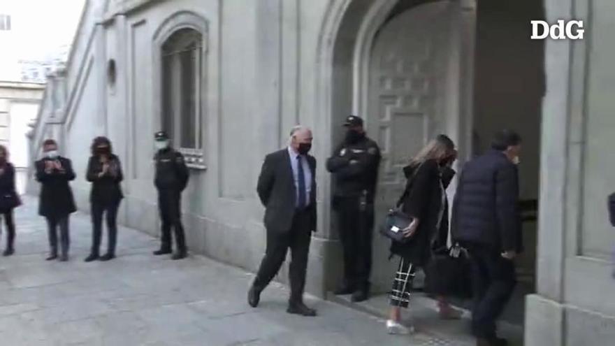 Vídeo| Serret declara al Tribunal Suprem pel procés