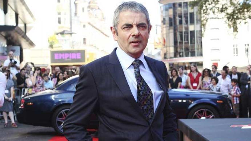 Rowan Atkinson se aleja de Mr. Bean