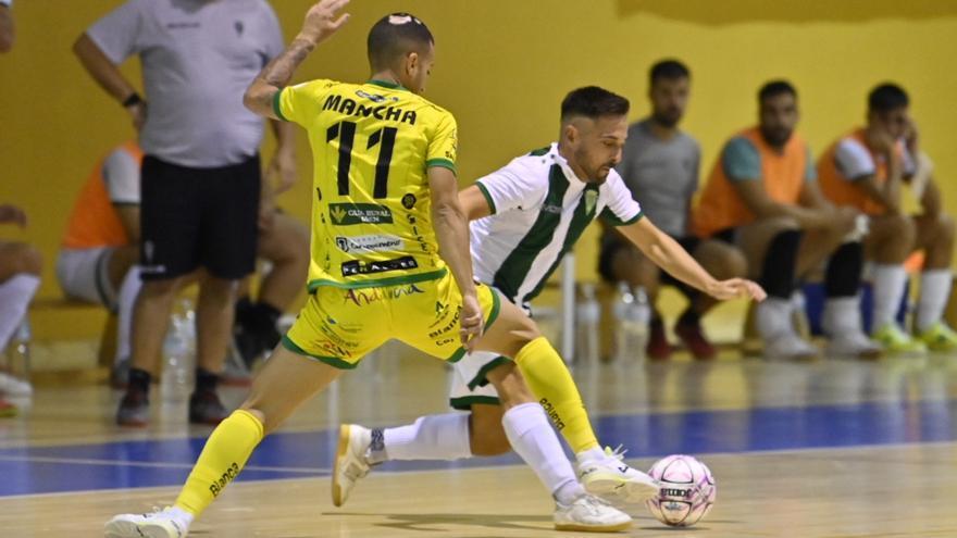 La falta de pegada condena al Córdoba Futsal ante el Jaén Paraíso Interior