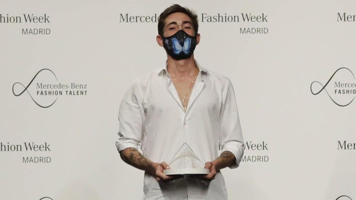 El diseñador madrileño Robber Rodríguez.