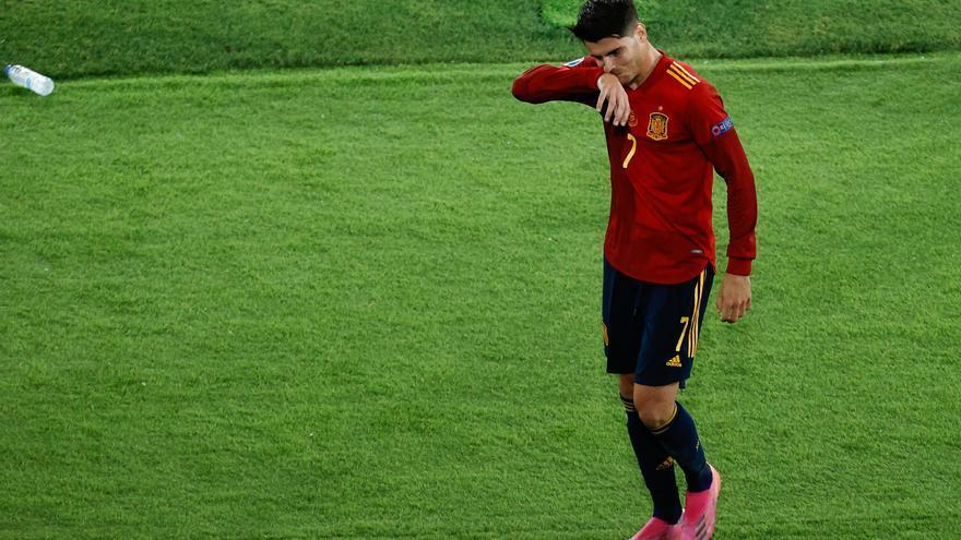 Morata se lesiona y no jugará la Liga de Naciones con España