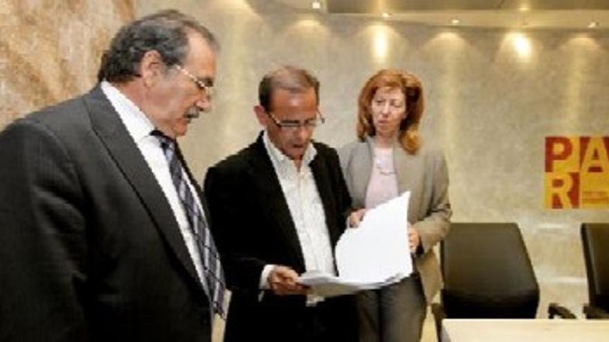 El PAR pide a Pinilla y Rodrigo Vela que devuelvan sus actas de cargos públicos
