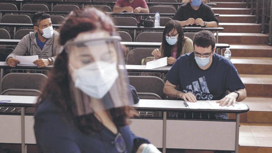 El 74,81% de los alumnos han aprobado la EBAU en septiembre en La Laguna