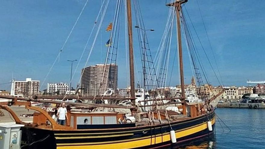 La Goleta Äran, un vaixell de vela suec de 1908, navegarà per la Costa Brava