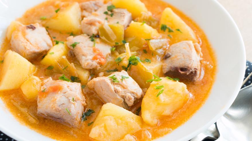 Bonito con patatas (marmitako)