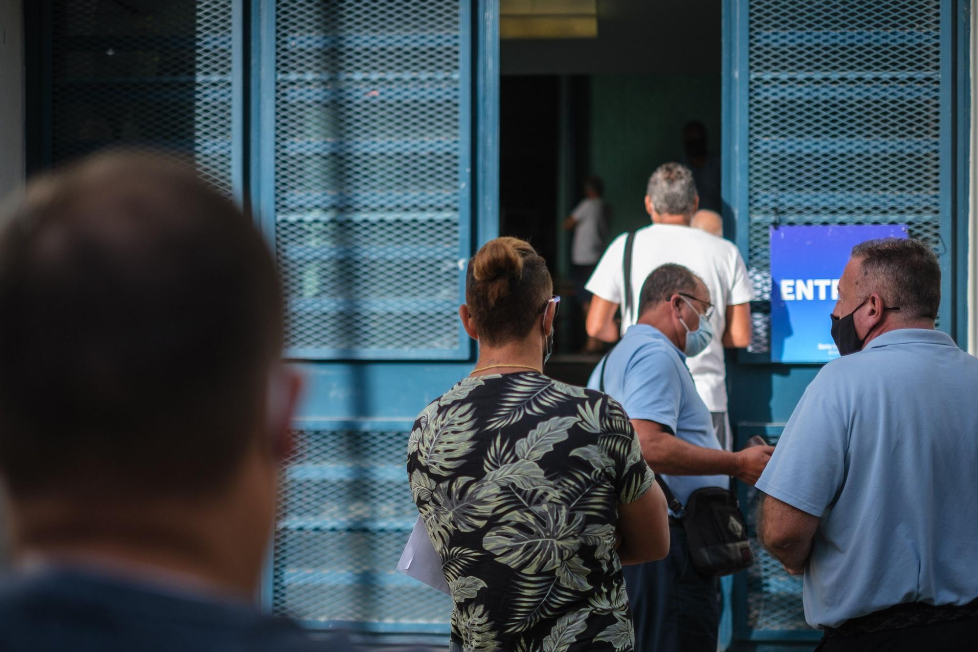 Elección de los miembros de la mesa del taxis en Santa Cruz