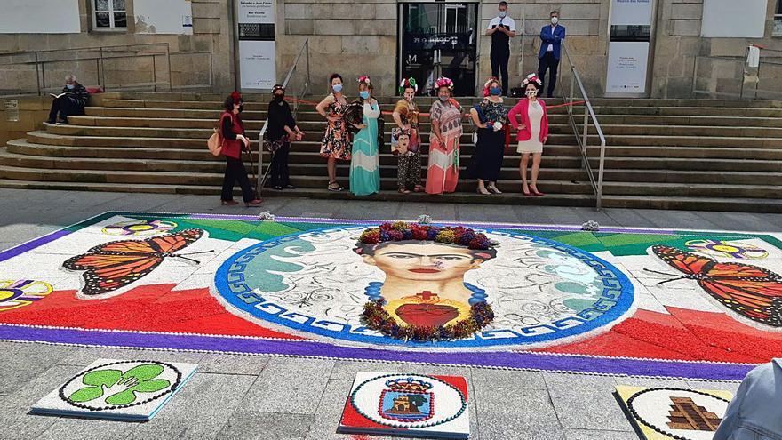 Bueu insufla vida a Frida Kahlo