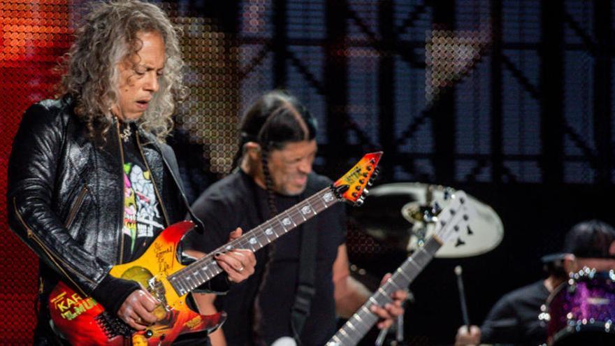 Metallica hace vibrar a las masas en su mayor concierto en España