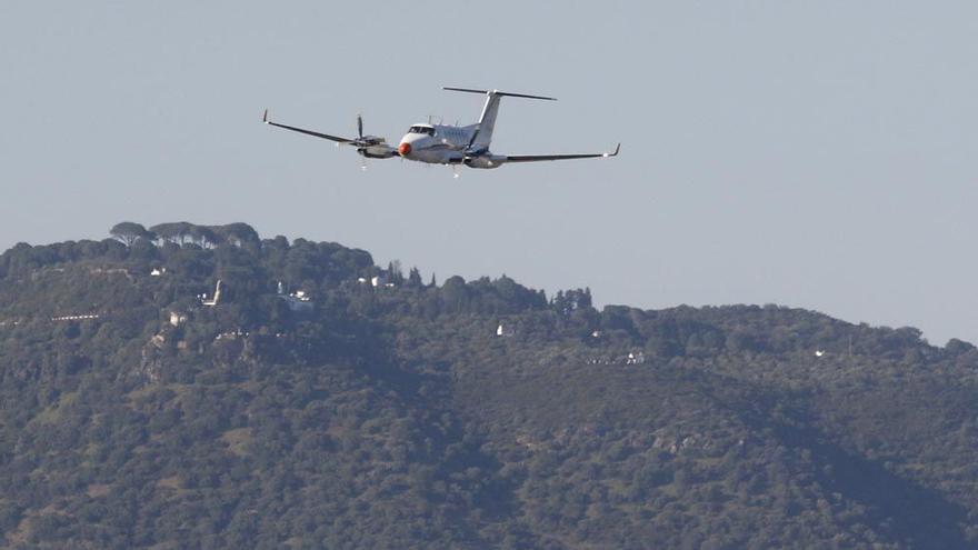 Otro avión de pruebas en el aeropuerto sobrevolará Córdoba el día 24