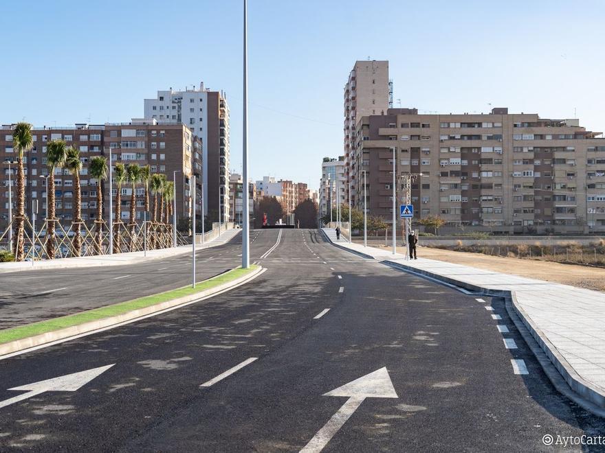 Una nueva arteria conecta la ciudad