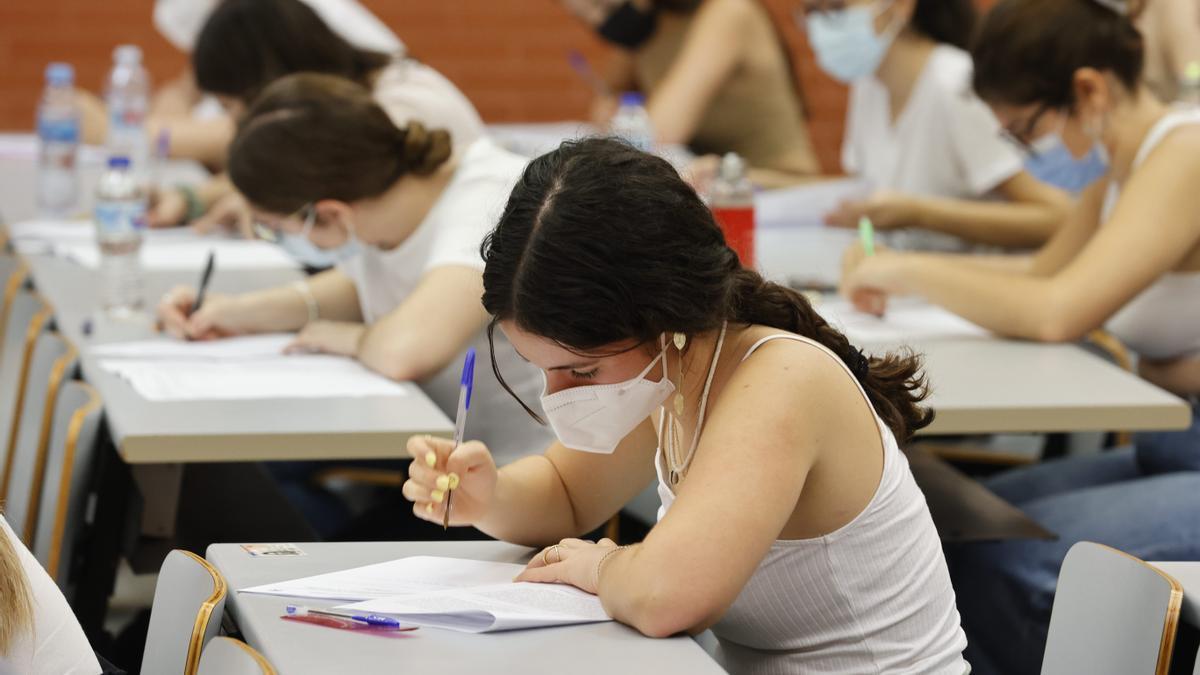 Consulta tus notas de Selectividad (EBAU) en Valencia, Alicante y Castelló.