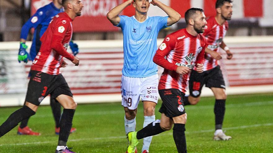 El Pontevedra se queda sin gol
