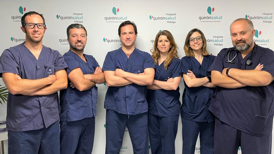 Quirónsalud Málaga trata con éxito el primer caso en España de tromboembolismo pulmonar masivo mediante terapia por ultrasonidos