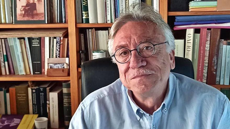 Andrés García Baena, en su despacho