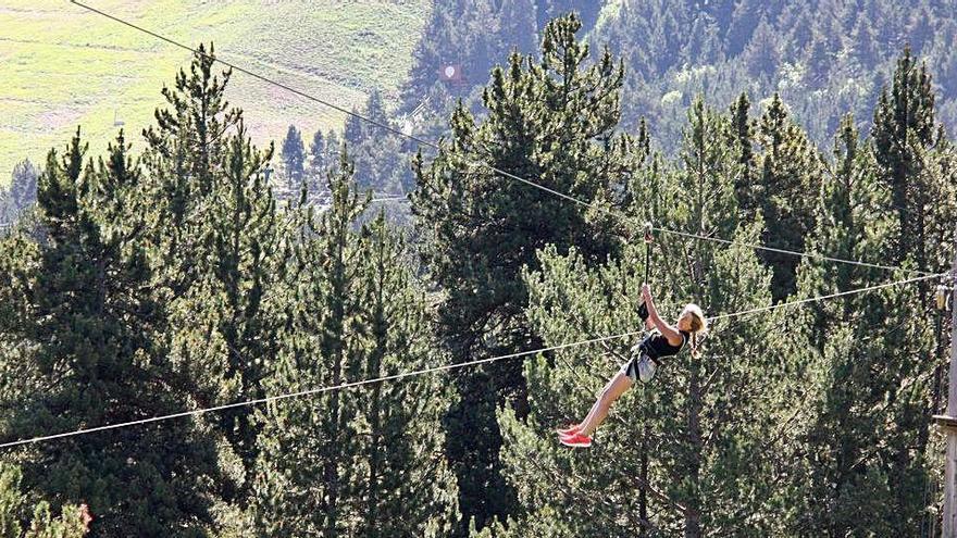 El Pirineu gironí registra unes xifres de visitants similars a les de l'any passat