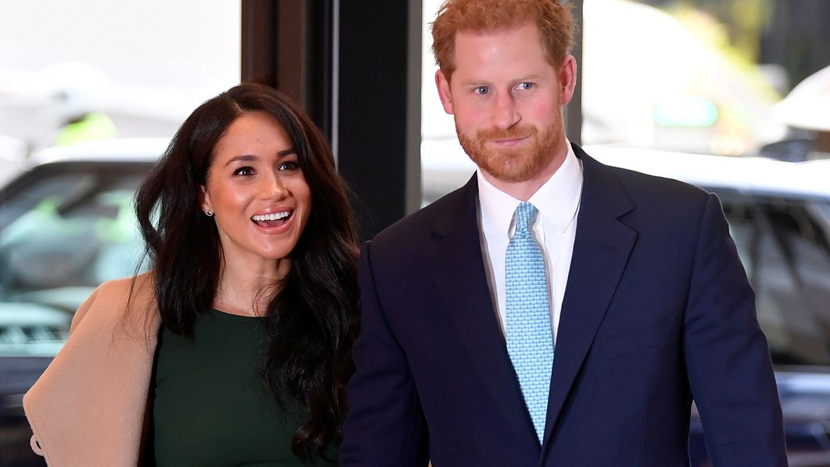 An image of Meghan Markle and Prince Harry.