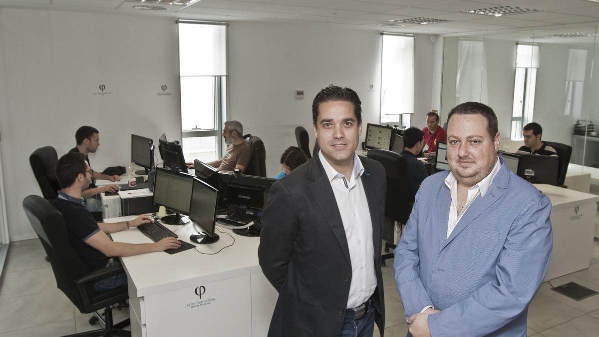 Javier Mira, CEO, y Salvador Martí, presidente y fundador de FacePhi.