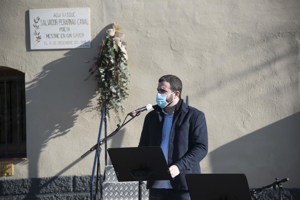 Homenatge a Salvador Perarnau: 125 anys del seu naixement
