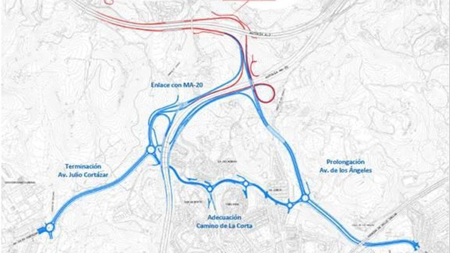 El Ayuntamiento presenta alegaciones al proyecto para enlazar la autopista de peaje con la Ronda Oeste