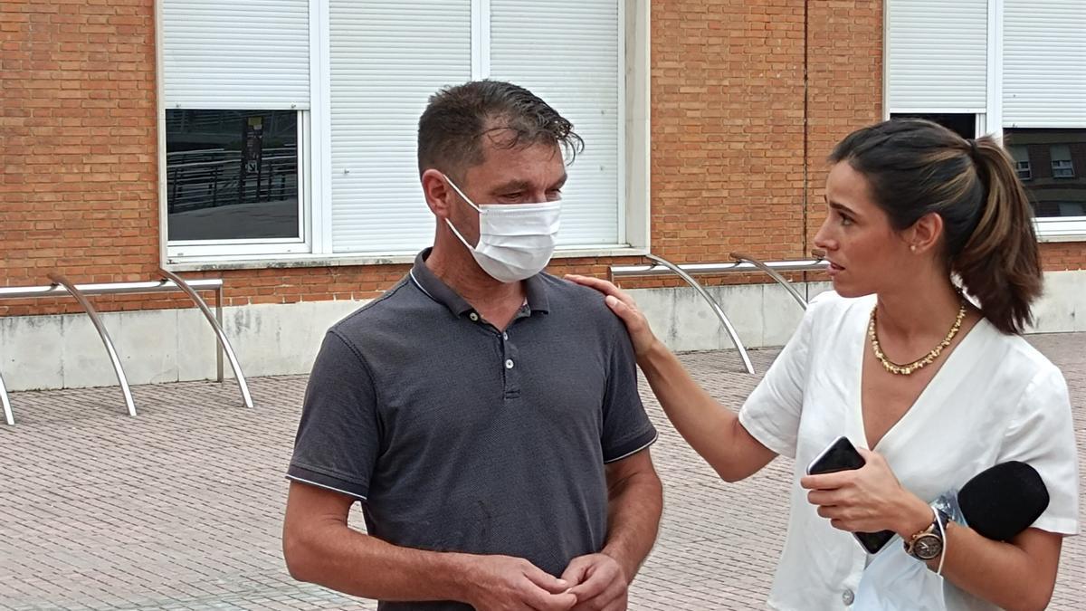 Eugenio, padre del joven de 23 años de Amorebieta, víctima de una brutal paliza grupal