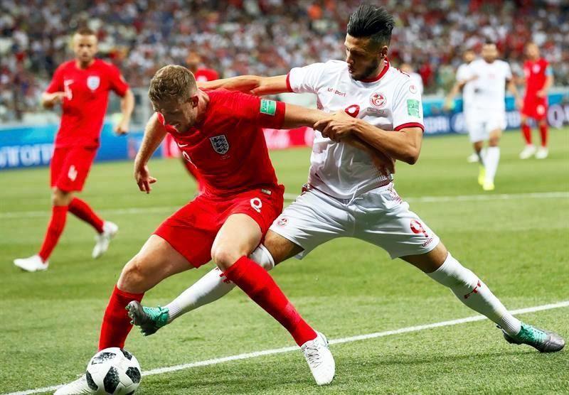Las mejores imágenes del Túnez-Inglaterra