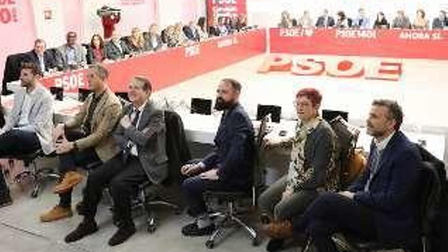 El alcalde participa en la reunión de la Ejecutiva Federal del PSOE en Madrid