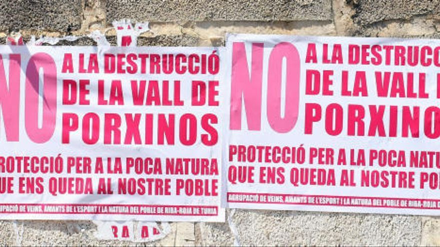 La Generalitat tumba el PAI del Valencia CF en Porxinos