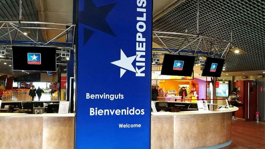 Los cines Kinépolis reabren en Alzira tras tres meses de cierre forzado