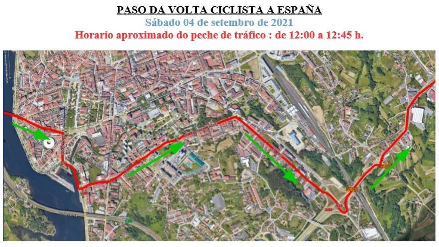 Operativo especial en Sanxenxo y Pontevedra por el paso de la Vuelta
